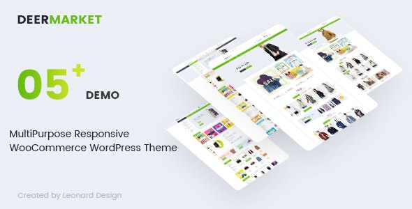 DeerMarket - Multipurpose Responsive WooCommerce WordPress Theme 11
