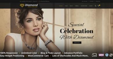 Diamond - Responsive WooCommerce Theme 3