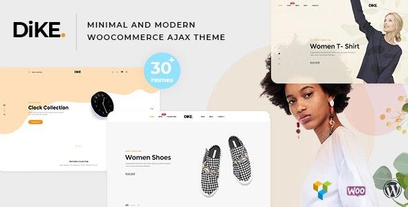 Dike - Minimal and Modern WooCommerce AJAX Theme 1