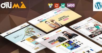 Dilima - Mega Store Responsive WooComerce Theme 4