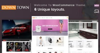 Down Town - Multipurpose WooCommerce Theme 4