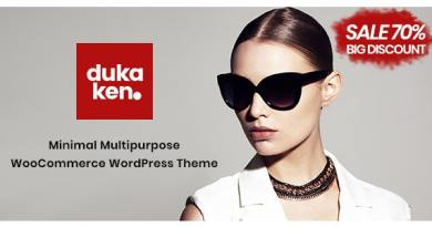 Dukaken – Multipurpose WooCommerce WordPress Theme 3