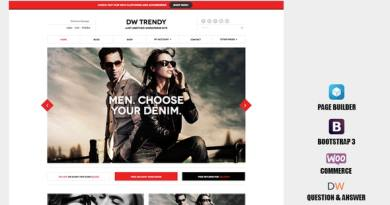 DW Trendy - Responsive WooCommerce WordPress Theme 10