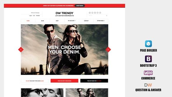 DW Trendy - Responsive WooCommerce WordPress Theme 1
