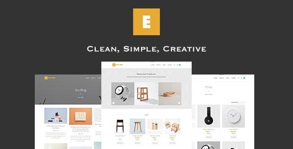 Easy Shop - WooCommerce WordPress Theme 1