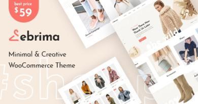 Ebrima - Minimal & Creative WooCommerce WP Theme 2