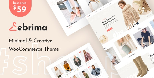 Ebrima - Minimal & Creative WooCommerce WP Theme 1
