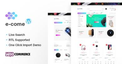 Ecome - Electronics Store WooCommerce Theme - RTL Supported 4