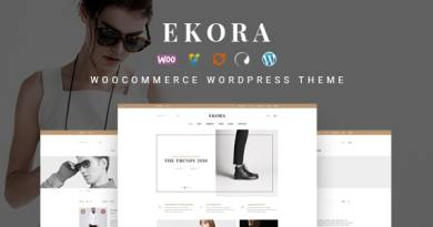 Ekora - Wonderful WordPress Woocommerce Theme 2