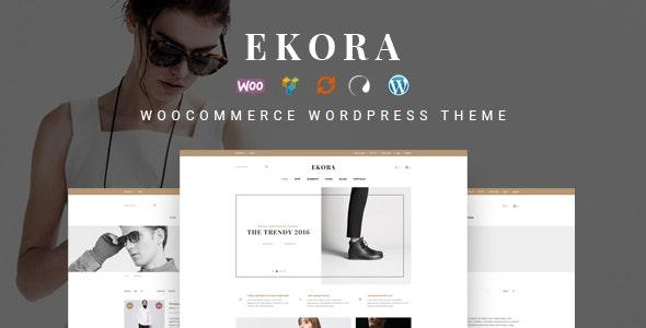 Ekora - Wonderful WordPress Woocommerce Theme 1