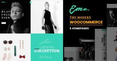Eme - WooCommerce WordPress Theme 2