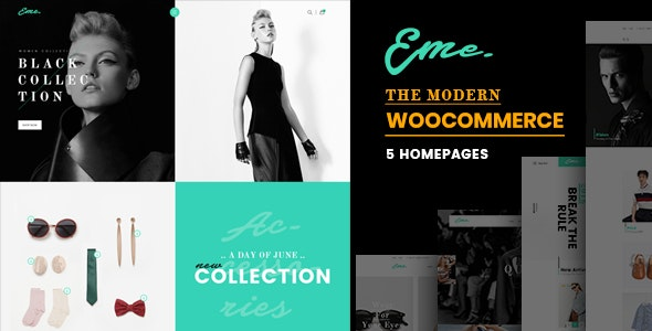 Eme - WooCommerce WordPress Theme 1