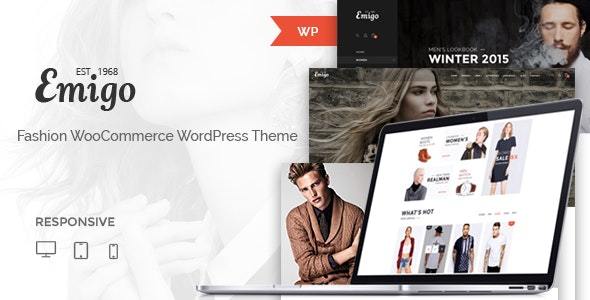Emigo - Fashion WooCommerce WordPress Theme 1