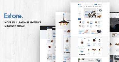 Estore - Modern Clean WooCommerce WordPress Theme 3