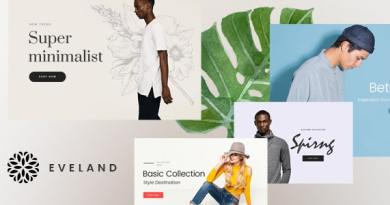 Eveland – Modern AJAX enabled WooCommerce theme (RTL Supported) 4