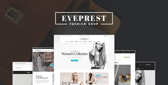 Eveprest - Fashion Shop WooCommerce WordPress Theme 1