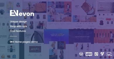 Evon - Bag Store WooCommerce WordPress Theme 2