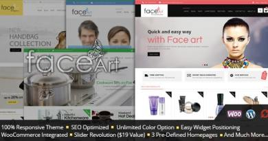 Face Art - WooCommerce Responsive Theme 4