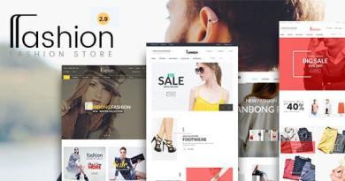 Fashion Store - Hanbags, Shoer RTL Responsive WooCommerce WordPress Theme 3