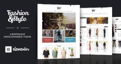Fashion - WooCommerce Responsive WordPress Theme 2
