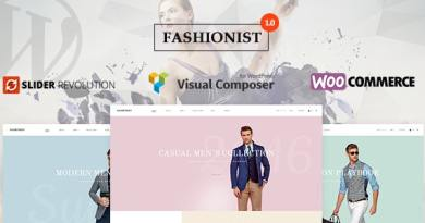 Fashionist - WooCommerce WordPress Theme 4