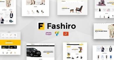 Fashiro - Multipurpose WooCommerce Theme 3