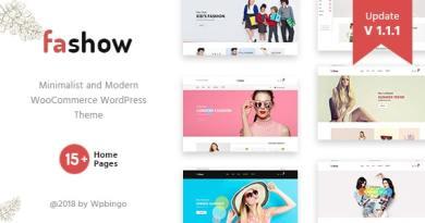 Fashow - Minimal and Modern WooCommerce Fashion Theme 2