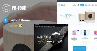FB Tech - Digital shop RTL WooCommerce Theme 4