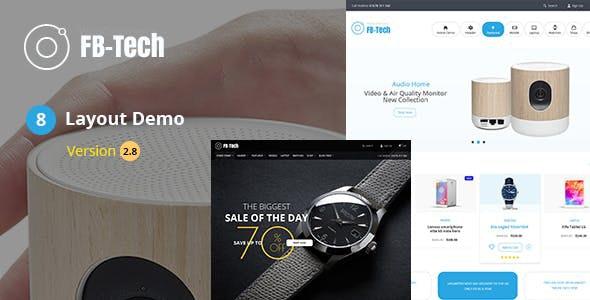 FB Tech - Digital shop RTL WooCommerce Theme 1