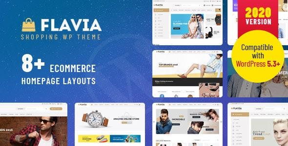 Flavia - Download Responsive WooCommerce WordPress Theme 2020 1