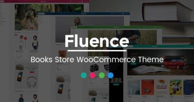 Fluence - Books Store Multipurpose Responsive WooCommerce WordPress Theme 3