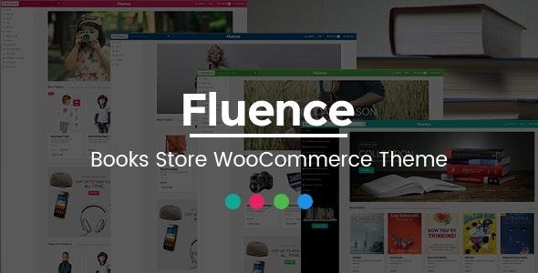 Fluence - Books Store Multipurpose Responsive WooCommerce WordPress Theme 1