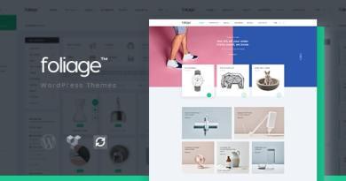 Foliage - Multipurpose WooCommerce WordPress Theme 3