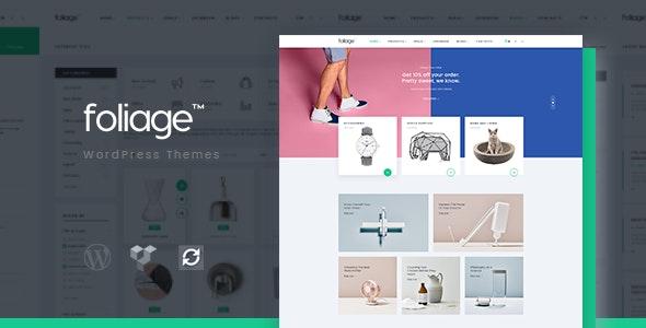 Foliage - Multipurpose WooCommerce WordPress Theme 1