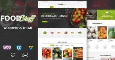Food Stuff - Multipurpose WooCommerce Theme 3