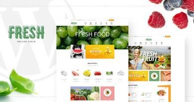 Fresh - Food and Restaurant WooCommerce WordPress Theme 2
