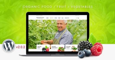 FreshFood - Multi Store Responsive WordPress Theme 5