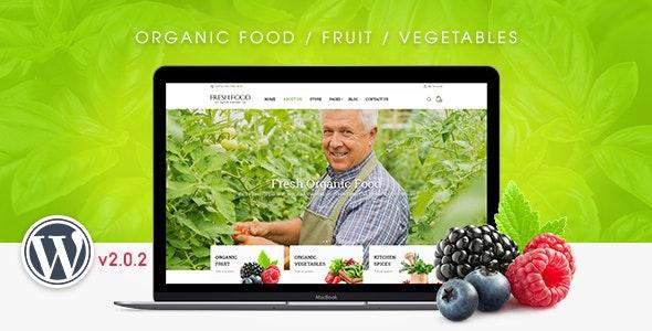FreshFood - Multi Store Responsive WordPress Theme 10