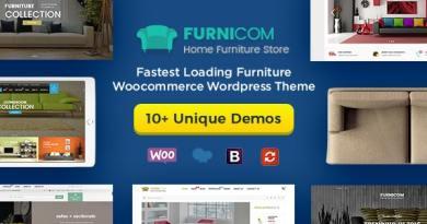 Furnicom - Furniture Store & Interior Design WordPress WooCommerce Theme (10+ Homepages Ready) 2