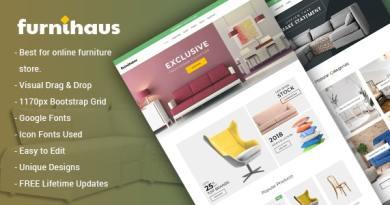 Furnihaus - Responsive Furniture WooCommerce WordPress Theme 33