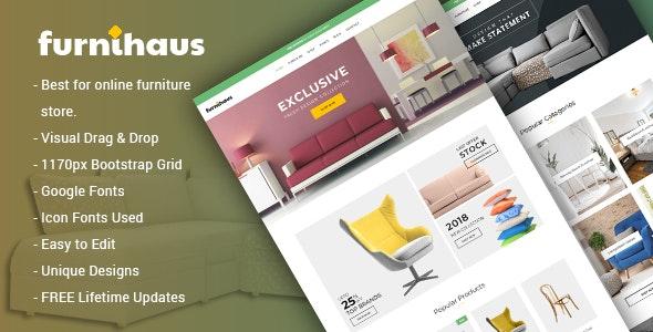 Furnihaus - Responsive Furniture WooCommerce WordPress Theme 1