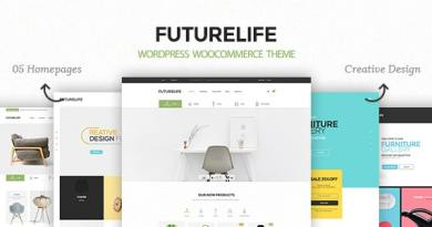 Futurelife – Responsive WordPress Woocommerce Theme 4