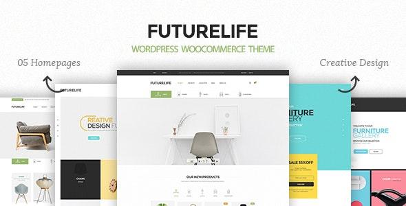 Futurelife – Responsive WordPress Woocommerce Theme 35