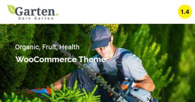 Garten - Farmer Shop WooCommerce Theme 3