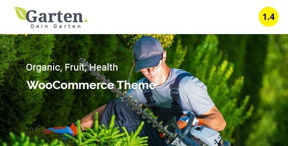 Garten - Farmer Shop WooCommerce Theme 1
