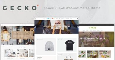 Gecko - Powerful Ajax WooCommerce Theme 3
