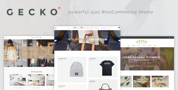 Gecko - Powerful Ajax WooCommerce Theme 12