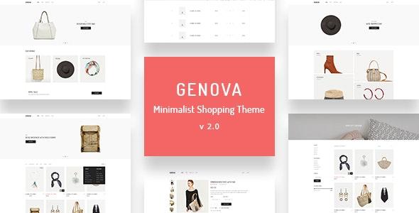 Genova - Minimalist AJAX WooCommerce WordPress Theme 1