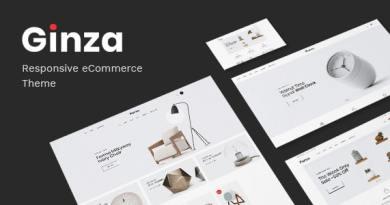 Ginza - Furniture Theme for WooCommerce WordPress 4