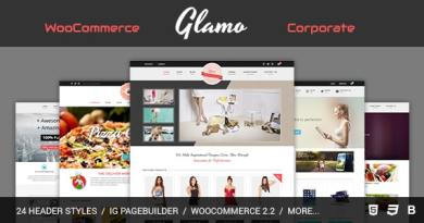 Glamo - Responsive WordPress Ecommerce Theme 2